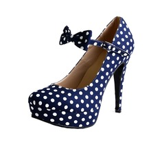 Shofoo Damenschuhe Fashion Closed Toe Runde Zehe Chunky Heels Schnalle T-strap Damen Pumps
