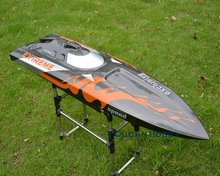 Monohull G30D 47″ Fiber Glass 30CC Engine Gas RC Racing Speed Boat ARTR Almost Ready Deep Vee RC Boat