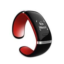 สายรัดข้อมือสมาร์ทl12soledบลูทูธนาฬิกาข้อมือสร้อยข้อมือการออกแบบสำหรับios& โทรศัพท์androidแต่งตัวอิเล็กทรอนิกส์จัดส่งฟรี