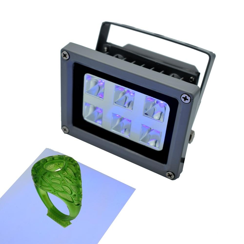 UV resin curing light for SLA 3D printer /DLP 3D printer solidify photosensitive resin 405nm UV resin with 60w output affect цена