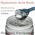 1 KG ácido hialurónico máscara hidratante 1000 g que blanquea la reparación agua de la cerradura desechable cosméticos dormir salón de belleza productos OEM