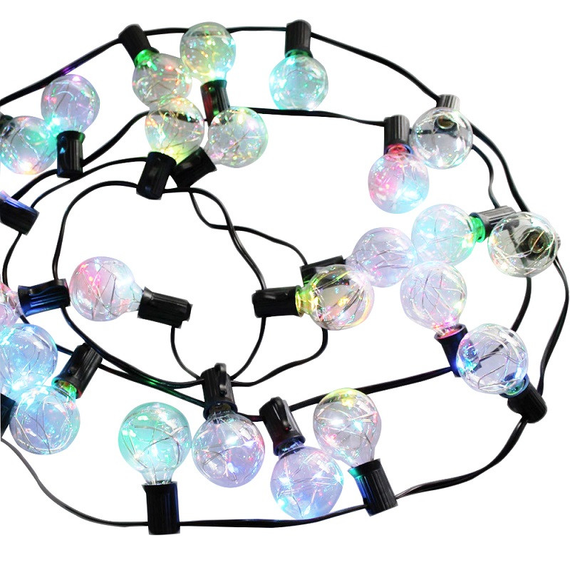 1x-G40-Garden-Led-String-Light-Copper-Wire-led-String-Light-AC-Power-Warm-White-Colorful