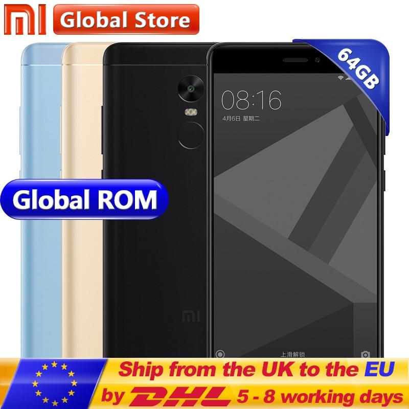 Original Xiaomi Redmi Note 4X 4GB 64GB Redmi Note 4 X Pro