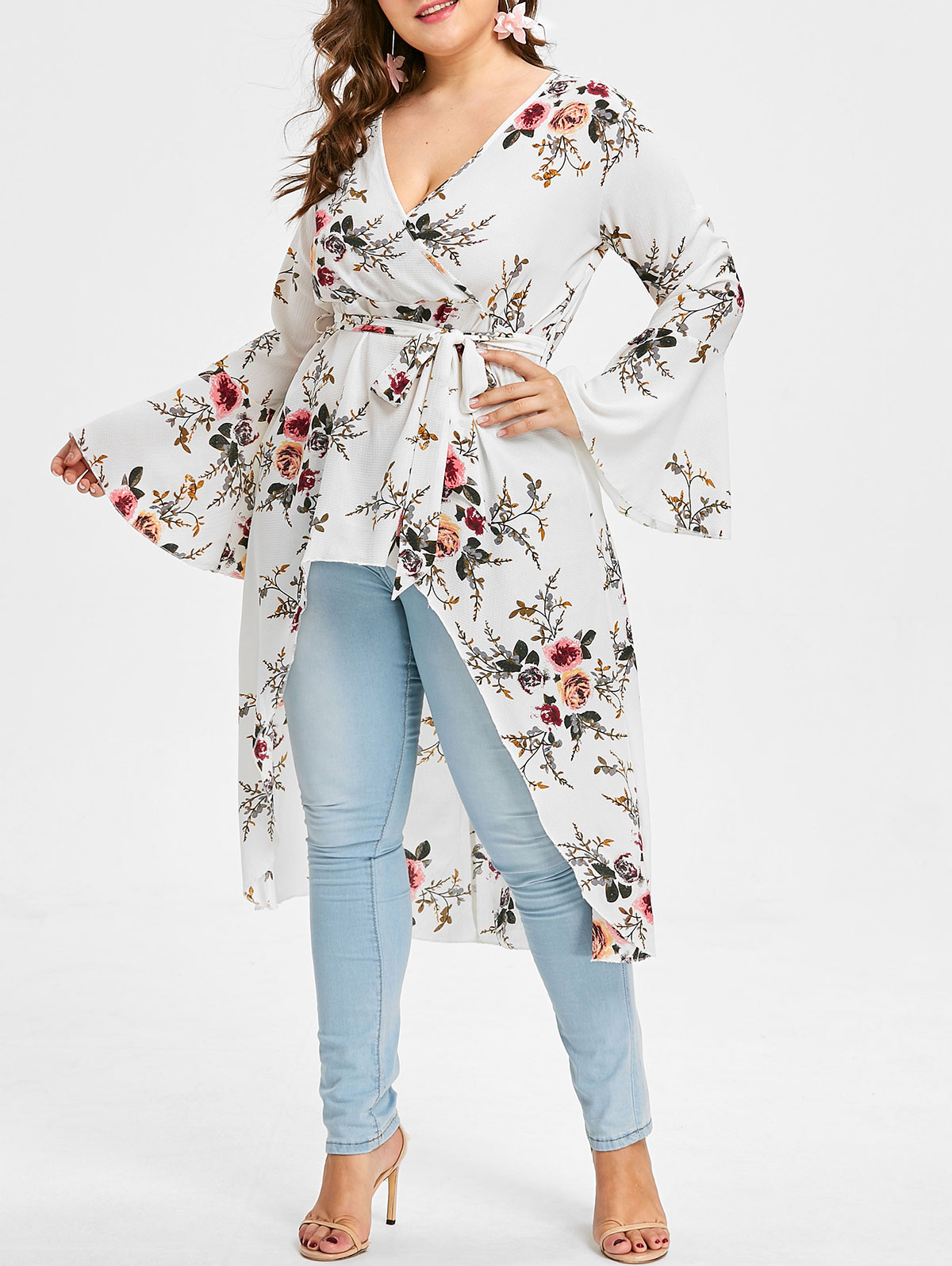 135a5078ff884 Sports & Outdoors Camping & Hiking Christmas Womens Plus Size Flare Sleeve  Tops Autumn Full V-Neck Printed Blouses Keyhole ...