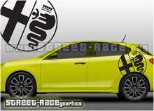 Alfa Romeo 023 graphics stickers decals Giulietta MiTo Spark etc