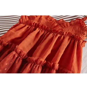 Image 5 - LOVE DD&MM Girls Dresses 2020 Summer New Childrens Wear Girls Foreign Style Sleeveless Baby Mesh Sling Princess Dress