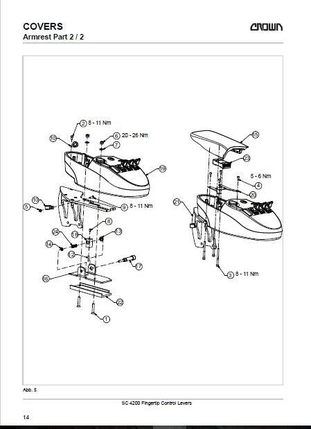 Aliexpress.com : Crown Gabelstapler Teile und Reparatur 2011 Deutsch ...