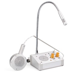 3W Digitale Full Duplex Venster Teller Intercom Interphone Systeem voor Bank Kantoor Winkel F4530D