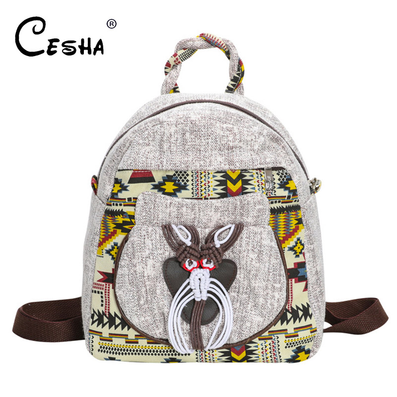 Environmentally Durable Girls Backpack Fashion Cotton Linen Fabric Womens Shoulder bag Ladys Travel Bag Beach Bag Clutch BagEnvironmentally Durable Girls Backpack Fashion Cotton Linen Fabric Womens Shoulder bag Ladys Travel Bag Beach Bag Clutch Bag