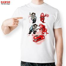 Boss And Stapler Fuse Into Robot T Shirt Funny Parody Design T-shirt Men Women Printed Tee Cool Fashion Novelty Style Top Tshirt
