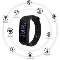 W6S Bluetooth Smart Bracelet Sleep Tracker Heart Rate Tracker Waterproof Sport Smart Wristbands Electronic Wristband Strap