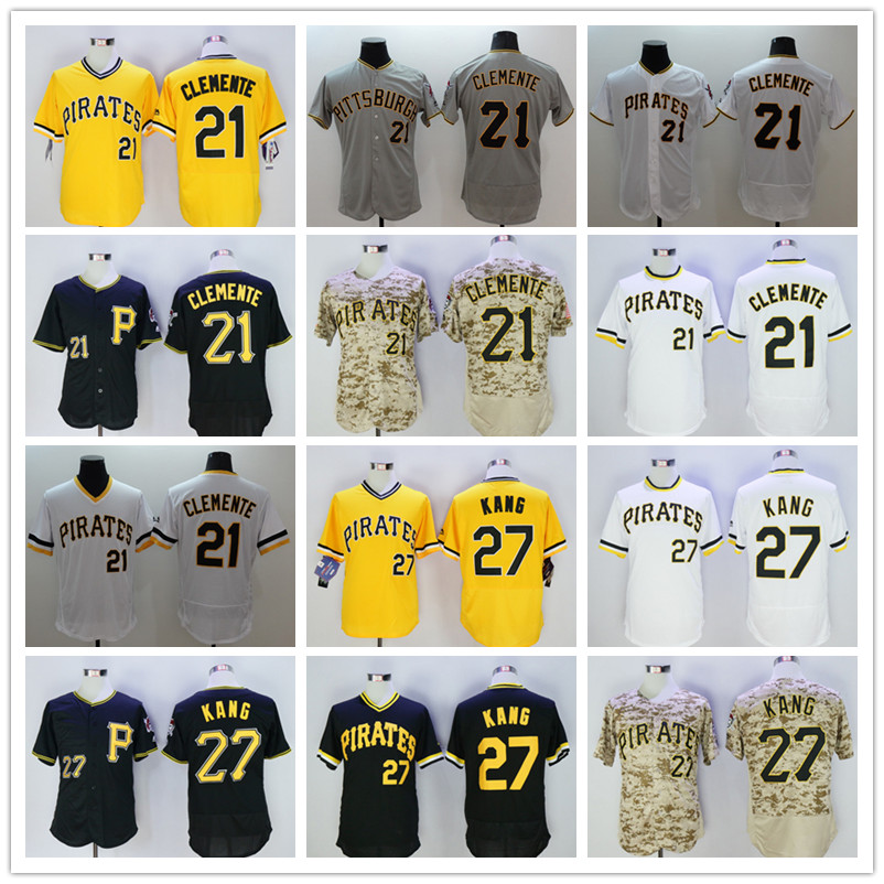 detailed look 32624 2aafe 21 roberto clemente jersey black