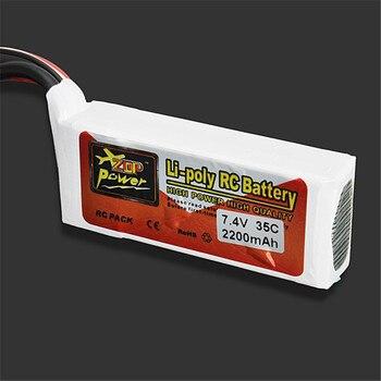 Gran oferta de alta calidad ZOP Power 7,4 V 2200mAh 35C Lipo batería conector en T