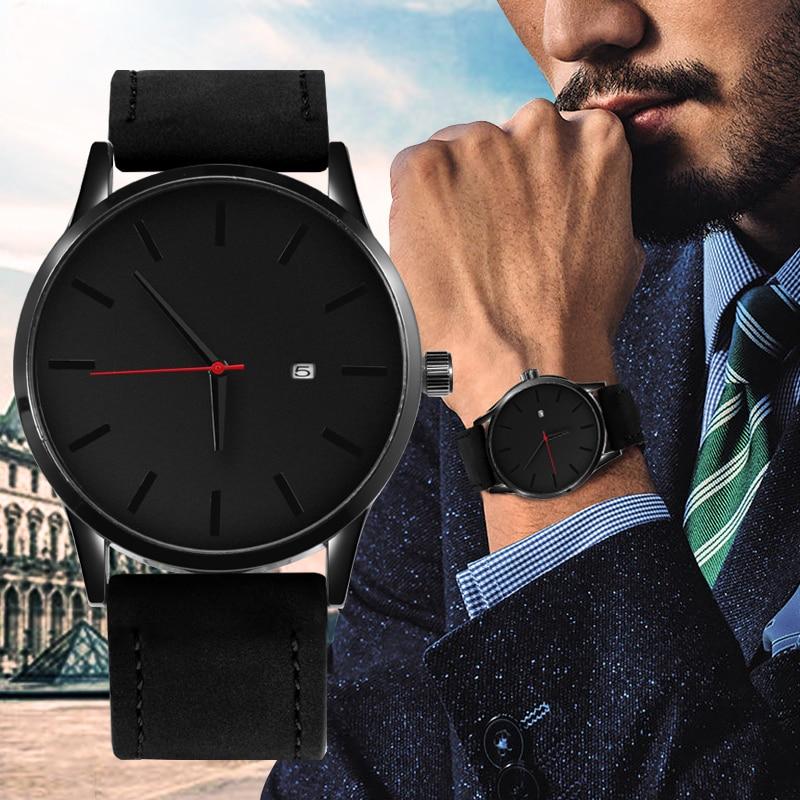 SOXY лучший бренд класса люкс для мужчин часы модные часы для мужчин 2018 новые часы для мужчин спортивные часы кожа Повседневное Reloj Hombre Saati