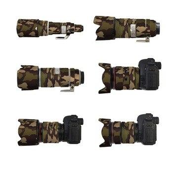 Zeitgenössische Gummi Camouflage Neopren Objektiv Mantel Wasserdicht Objektiv Schutz Mantel Abdeckung Camo Fall Für Sigma 150-600mm C /S