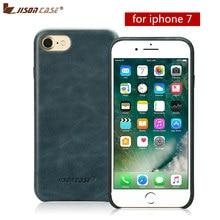 Здесь можно купить   Jisoncase Slim Cse for iPhone 7 Luxury Genuine Leather Phone Case for iPhone 7 Back Cover for iPhone 7 4.7 inch Mobile Phone Accessories & Parts