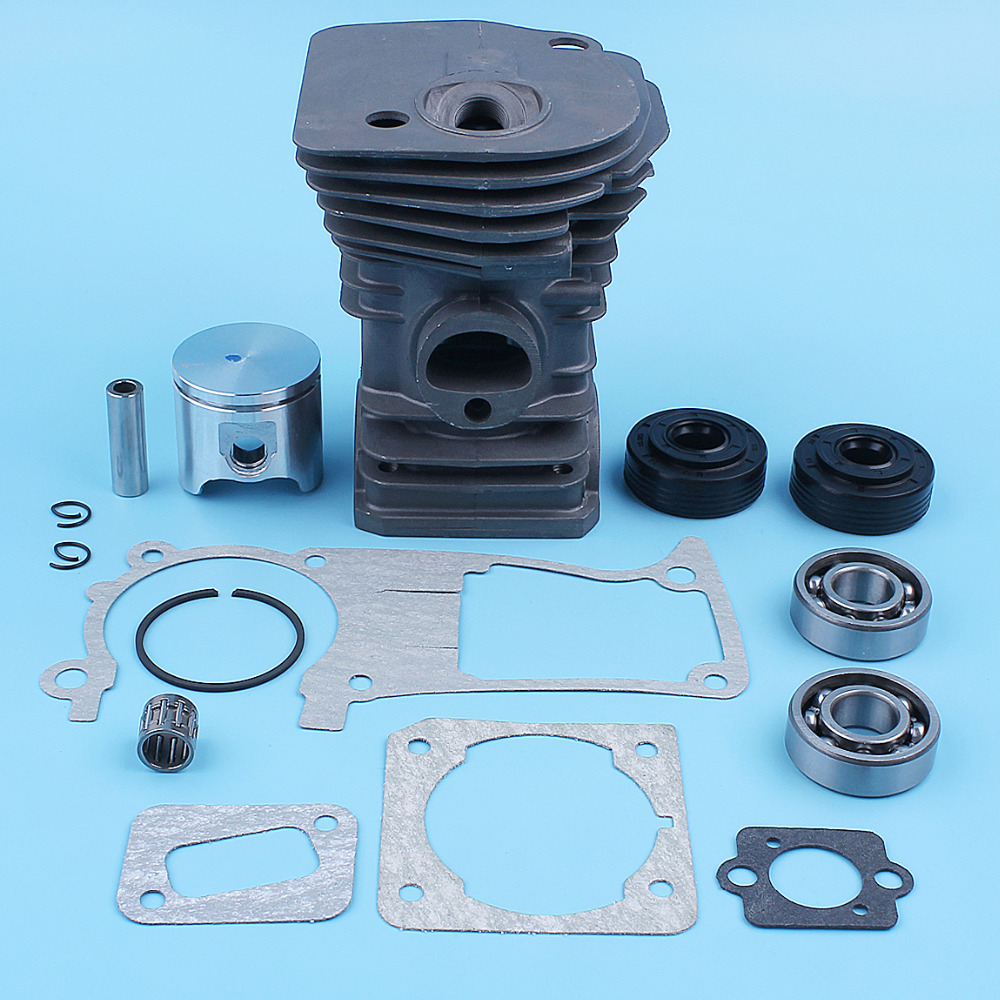 40mm Cylinder Piston Crankshaft Bearing Seal Gasket Kit For Husqvarna 340 345 E Chainsaw Replacement Part