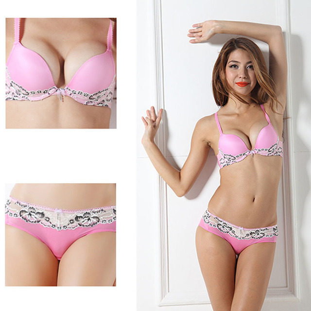 Aliexpress.com : Buy G.B.ELA Summer Girls Push up bra pink lace ...