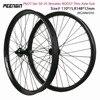 "29er MTB גלגל novatec thru axle XC/AM/DH 27.5 אינץ הר 50X25 מ""מ רחב OEM אופני זוג גלגלי BOOST hubFront 110*15 מ""מ אחורי 148*12 מ""מ-בגלגל אופניים מתוך ספורט ובידור באתר"