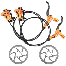 ZOOM HB-875 Mtb Bike Disc Brake With Rotors 160 mm Hydraulic For Bikes
