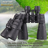 Ledarnell 10 30X50/60 professional zoom optical high quality monocular binoculars waterproof telescope for hunting travel