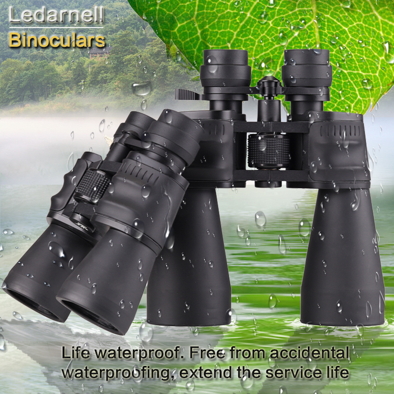 Ledarnell 10-30X50/60 professional zoom optical high quality monocular binoculars waterproof telescope for hunting travel original boshile high power 15 75x25 mini zoom monocular pocket flexible focus zoom telescope for camping dy007