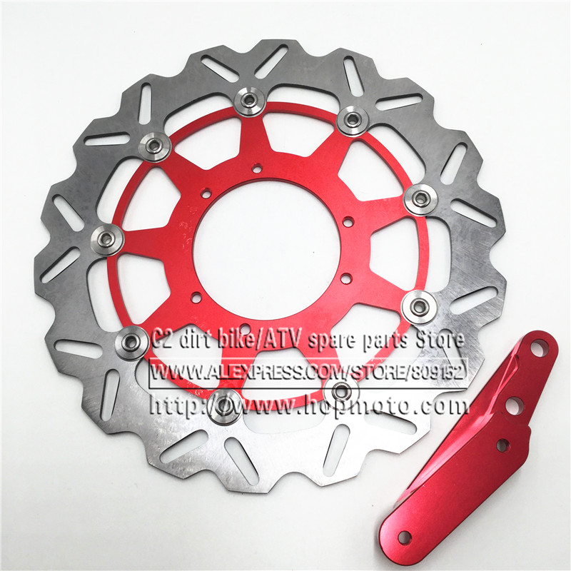320 Flaoting Brake Disc Plate Rotor Bracket for 4 Pot Caliper HF6 CR125 CR250 CRF250 CRF450