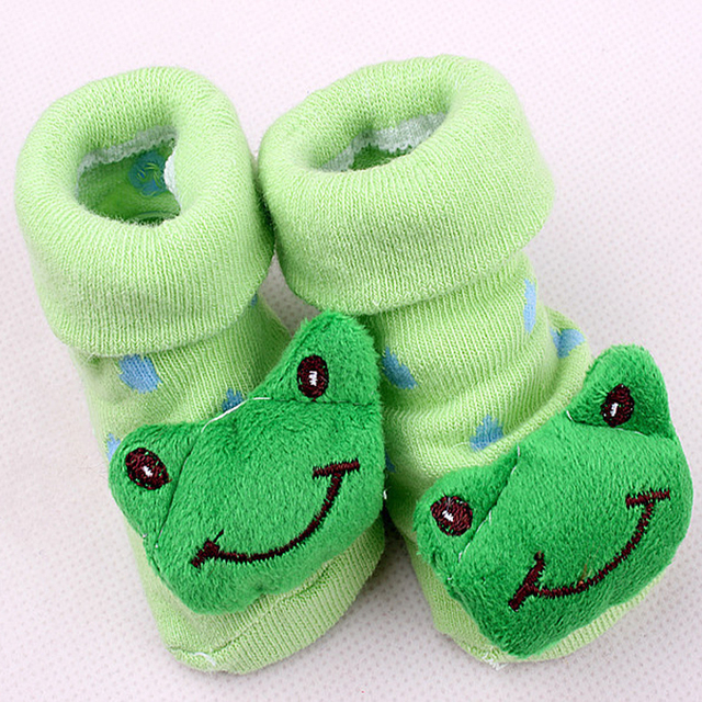 Anime Cotton Baby Socks with Rubber Soles for the Newborns | Spring 2017 Collection