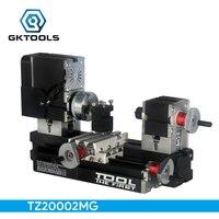 TZ20002MG FAI DA TE Big Power Mini Metallo Tornio, 60 W 12000r/min Motore, standardizzato bambini istruzione, MIGLIORE Regalo