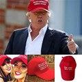 2016 El Más Nuevo Sombrero Que América Gran Donald Trump 2016 Republicano de Nuevo Sombrero Rojo Tapa Ajustable