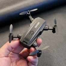 Mini  RC  Helicopter with Wide Angle HD Camera  Mini RC Drone with Camera Wifi FPV Foldable Altitude Hold Quadcopter