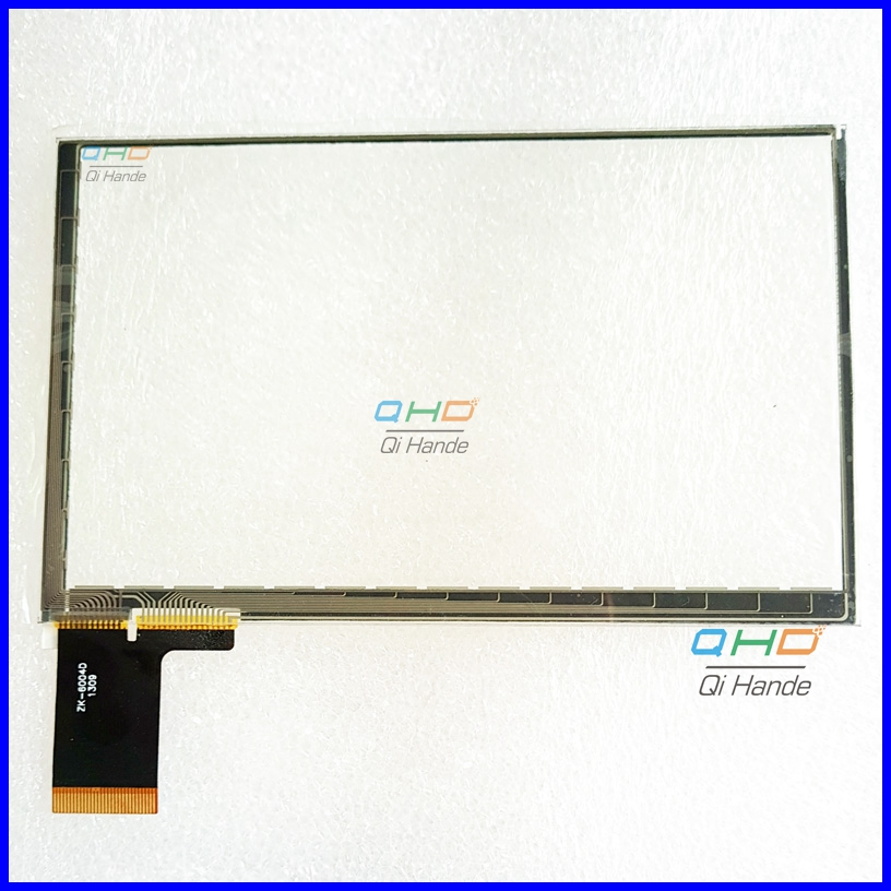 Free Shipping 5inch Capacitive Touch Screen For JXD S5110B PSP Touch Digiziter Glass,cable ZK-6004D ZK-6004 1308 ,size:119*74mm