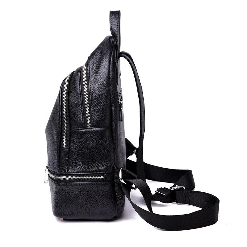 Bagaj ve Çantalar'ten Sırt Çantaları'de MENGXILU Hakiki Deri Sırt Çantası Kadın Öğrenciler okul çantaları gençler kızlar küçük sırt çantaları kadın seyahat çantası mochila bolsas'da  Grup 3