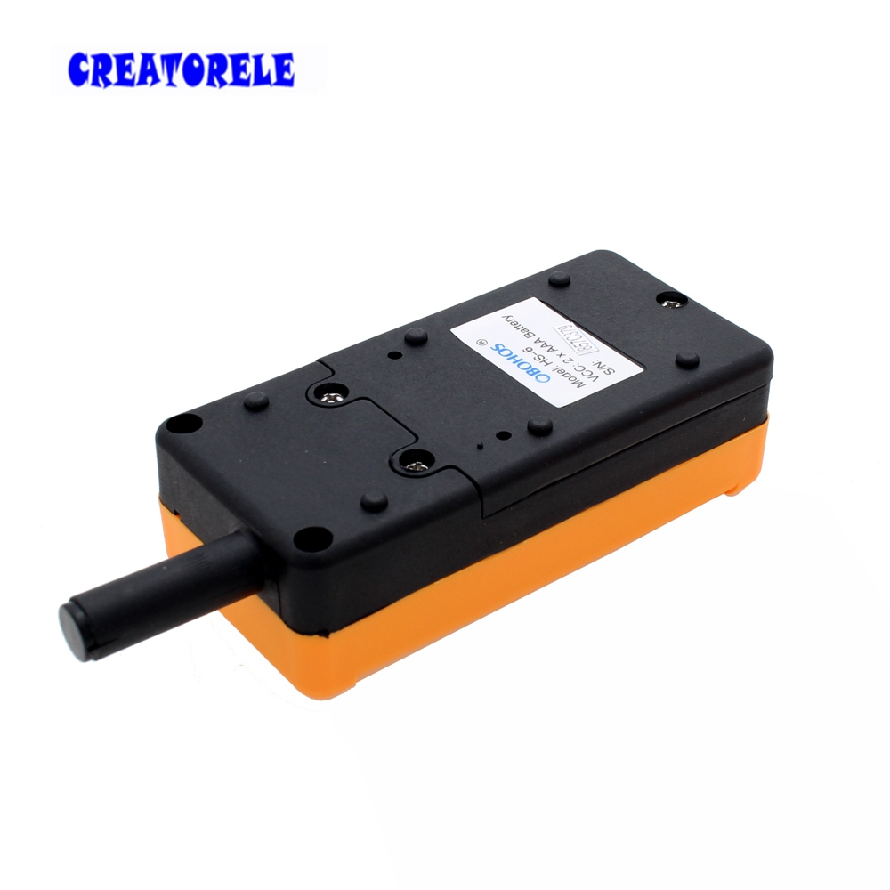 Image 5 - New Arrivals crane industrial remote control HS 6 wireless transmitter push button switch China-in Switches from Lights & Lighting