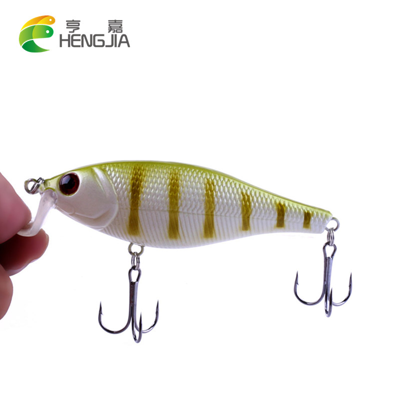 1Pc Big Wobbler Fishing Lures Minnow isca Artificial Bait Carp Peche Crankbait Pesca Jerkbait 9.5CM-13.5G 1ps minnow fishing lures deep isca artificial wobbler crankbait for fish lure hard fake bait pesca tackle hooks sea 14 5cm 12 7g