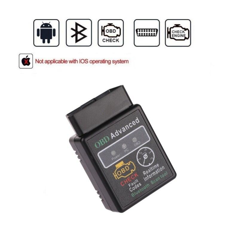 2018 New V02H2-1 V1.5 HH Elm327 Bluetooth 2.0 OBD2 Scanner HH ELM 327 Bluetooth Smart Car Diagnostic Interface ELM 327