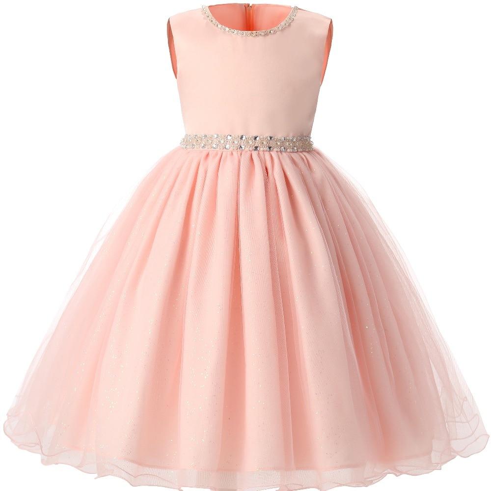 Elegant baby girl dress girls 2017 summer children for Dresses for girls for wedding