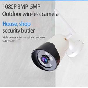 Image 3 - Caméra extérieure sans fil 1080 P HD Wifi caméra en métal CCTV Camara téléphone portable balle SD TF carte slot caméra de sécurité ICsee XMeye