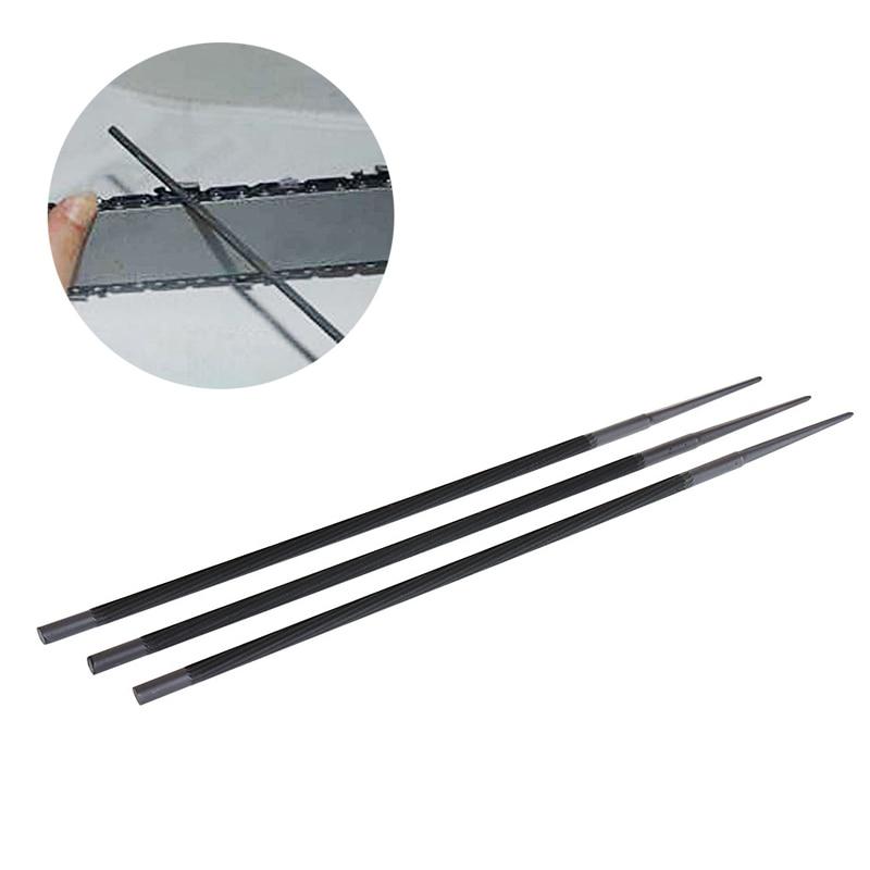 Handwerkzeuge 3 Teile/los Pro 4,8mm Runde Kettensäge Kette Dateien Einreichung Spitzer Für Holz Spezieller Kauf
