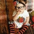 Halloween Newbron Baby Girls Outfits Clothes Romper Leg Warmer 2pcs Set 0-18M