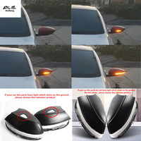 2pcs Dynamic running water Blinker Indicator Rearview Mirror Turn Light for Volkswagen VW Scirocco JETTA MK6 Beetle Passat B7 CC