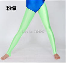 (LG38) Unisex Lycra Spandex Tights Solid Color Opaque Zentai Legging Fetish Wear Customize Size