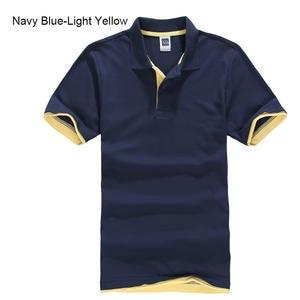 URSPORTTECH Polo-Shirt Jerseys Short-Sleeve Golftennis Xs-Xxxl Men's Plus-Size Cotton