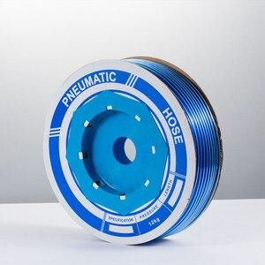 Image 2 - 100 m/piece האיכות גבוהה פניאומטיים הצינור PU OD 6MM מזהה 4MM פלסטיק גמיש צנרת PU6 * 4 פוליאוריטן צינורות כחול