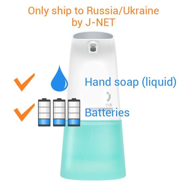 D'origine Xiaomi Mijia Minij Auto Moussant Main Laveuse intelligente XiaoJi Distributeur Automatique De Savon En Mousse Pour Xiaomi Mi Maison Intelligente kits
