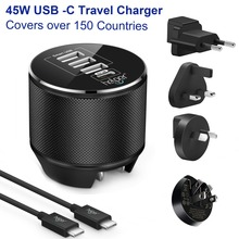 USB Type-C Charge  1-Port 5V/3A 15W USB-C & 3-port port Travel Wall Charger with US/EU/UK/AU Plug for devices