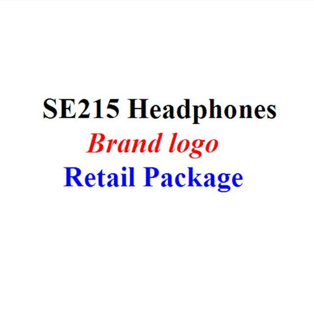 ФОТО SE215 Ear Buds 3.5mm in ear Headphone Stereo Hifi Headset Stage DJ Earphone Noise Cancelling Ecouteur Earduds Mobiles Earphones