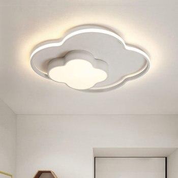 Moderno nordic minimalista luce di soffitto creativo di ferro LED art deco Nube dispositivo della lampada per i bambini camera da letto nursery sala studio e27
