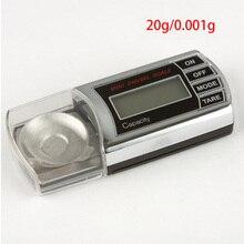 20 г/0,001 г портативные электронные цифровые весы с ЖК-дисплеем, точные Карманные весы, весы для взвешивания
