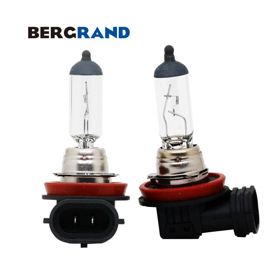 2PCS H16 12V 19W Halogen Bulb Fog Light Bulb 3100K Hard Glass PGJ19-3 Head Lamp Light Bulbs For Auto Replacement For Toyota